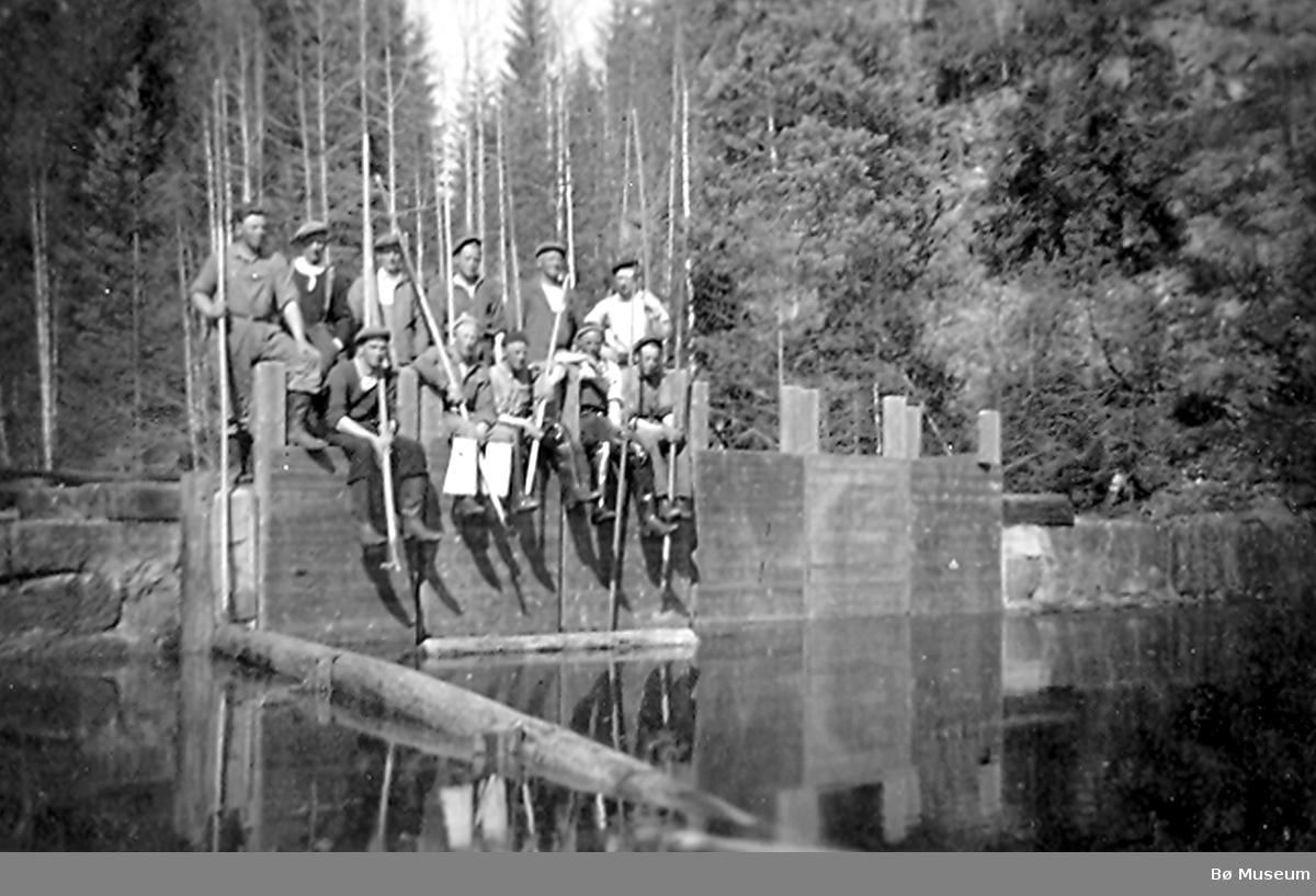 Holmstuldammen stengt 1951