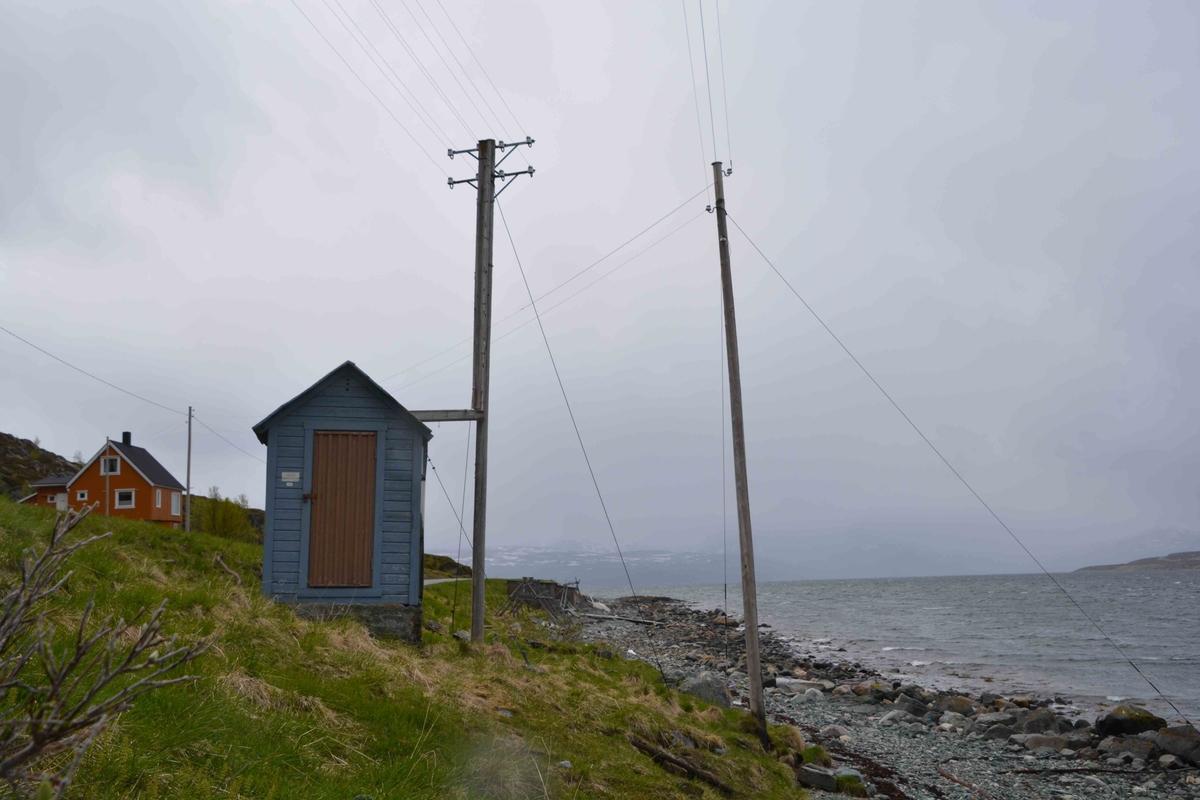 Sjøkabelhuset på Beritsjorda ble restaurert i slutten av 1990-årene. Det er fem bevarte stolper i tilknytning til kabelhuset.