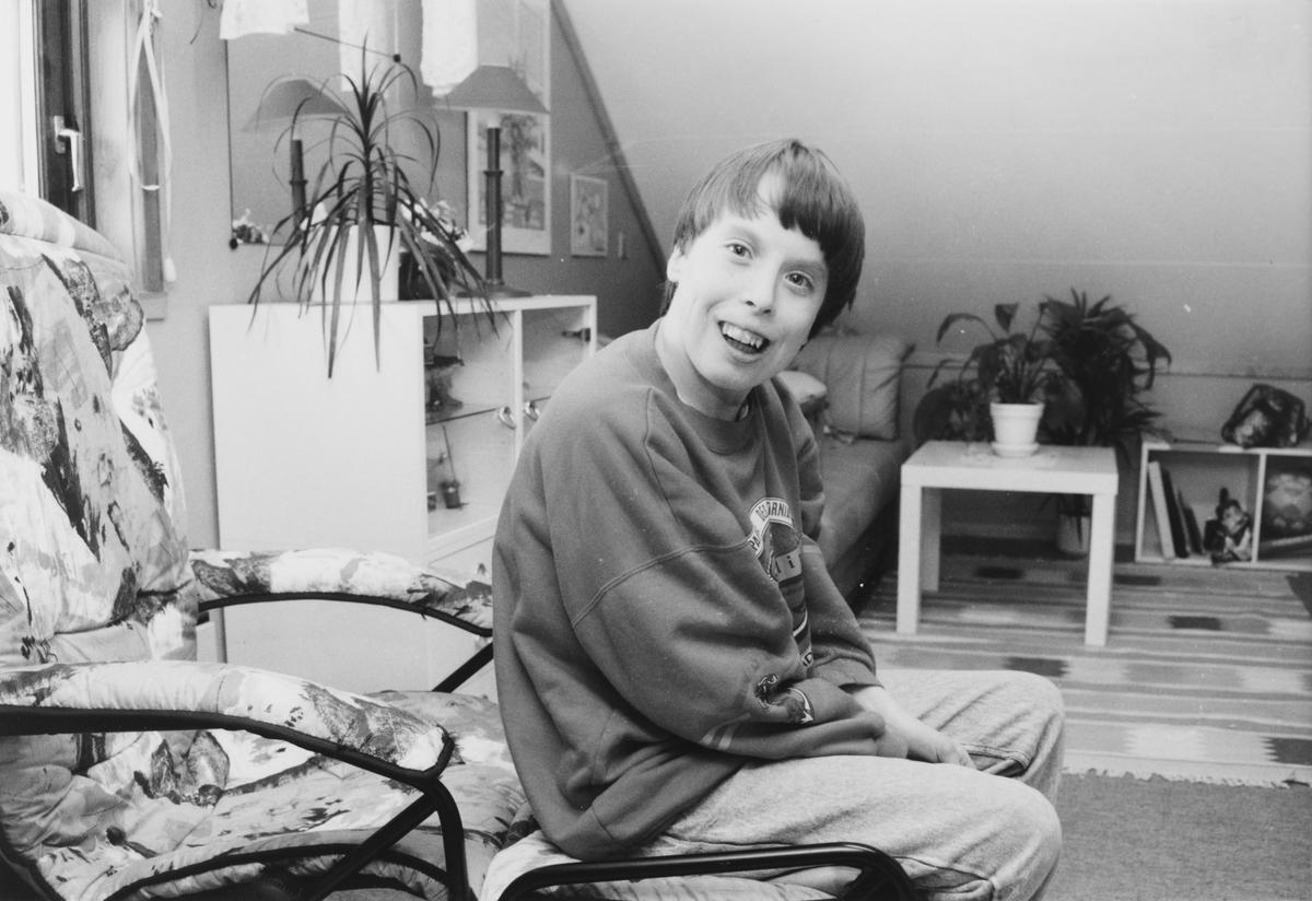 Carina Egedius flyttet inn i HVPU-bolig i Kalkbrennerveien på Tøyenhaugen i Hakadal. HVPU-reformen kom i 1991.