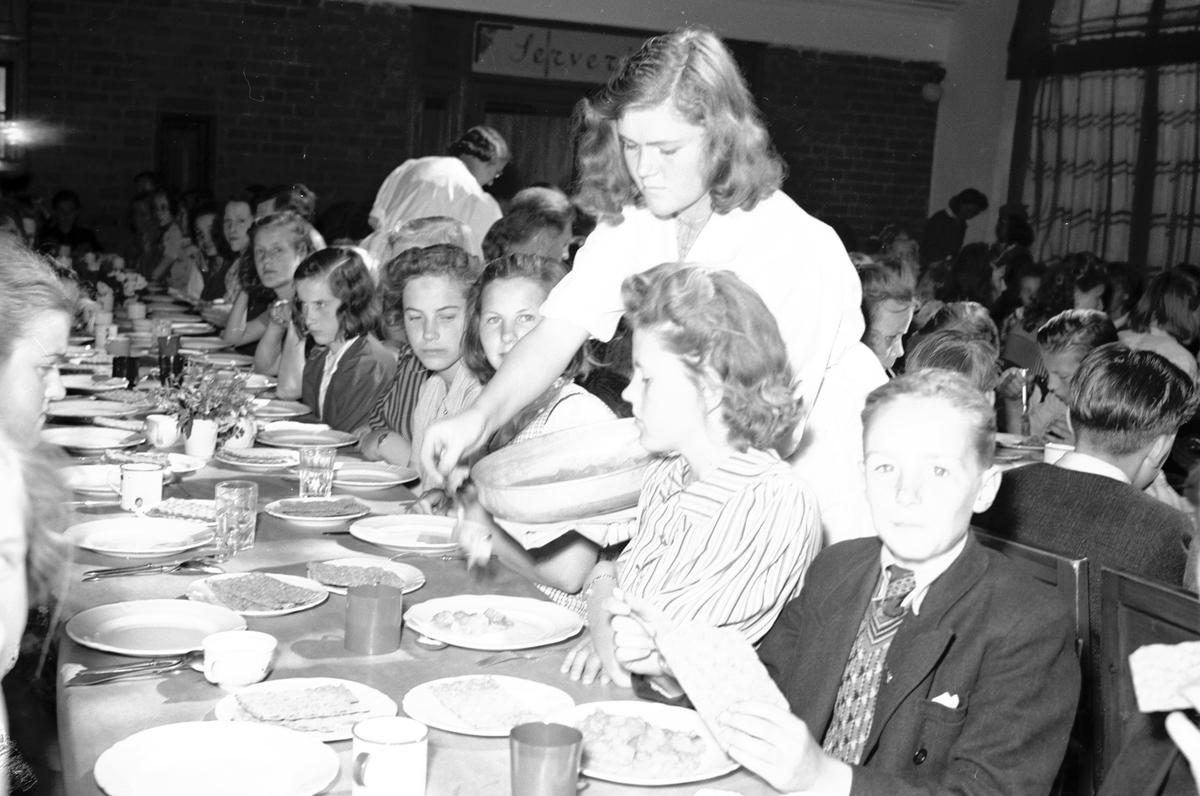 Barnsångartinget 10-årsjubileum. Den 10 Juni 1941