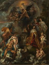 Allegori over Westfaler-fredens velsignelser [Maleri]