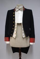 Politiuniform M/1854