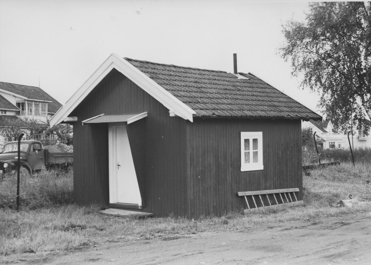 Gammel hvilebu på Sørumsand stasjon.