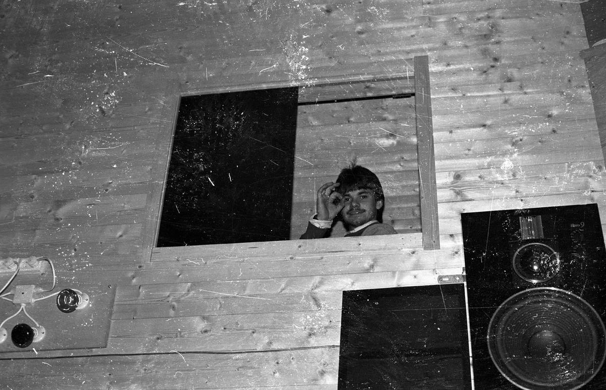 Diskoluka  på Aamodt ungdomsklubb 1985