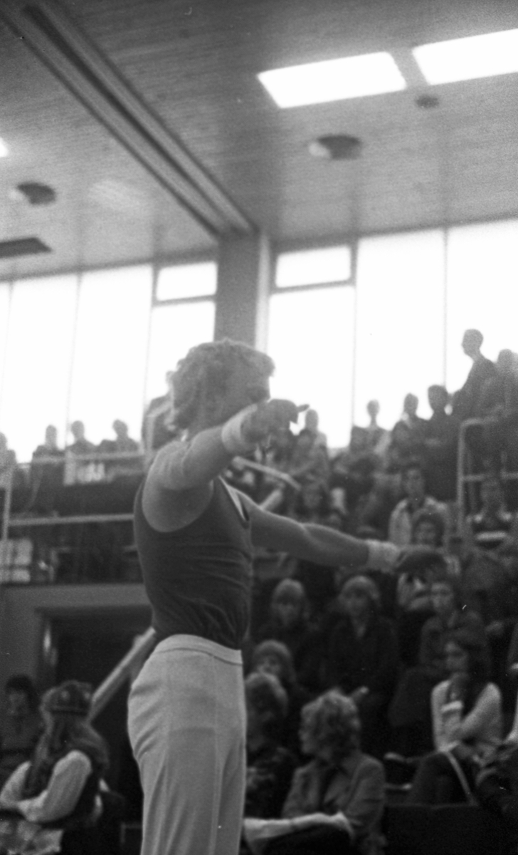 Turnfestival - 23/6 - 26/6 1972.  Individuelle øvelser. Oppvisninger. Bånd og ringer. Premiering.