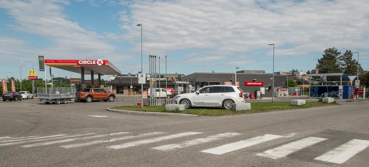 Circle K bensinstasjon Åråsveien Kjeller Skedsmo
