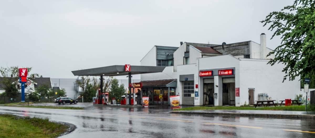 YX bensinstasjon Sørumsandvegen Sørumsand Sørum