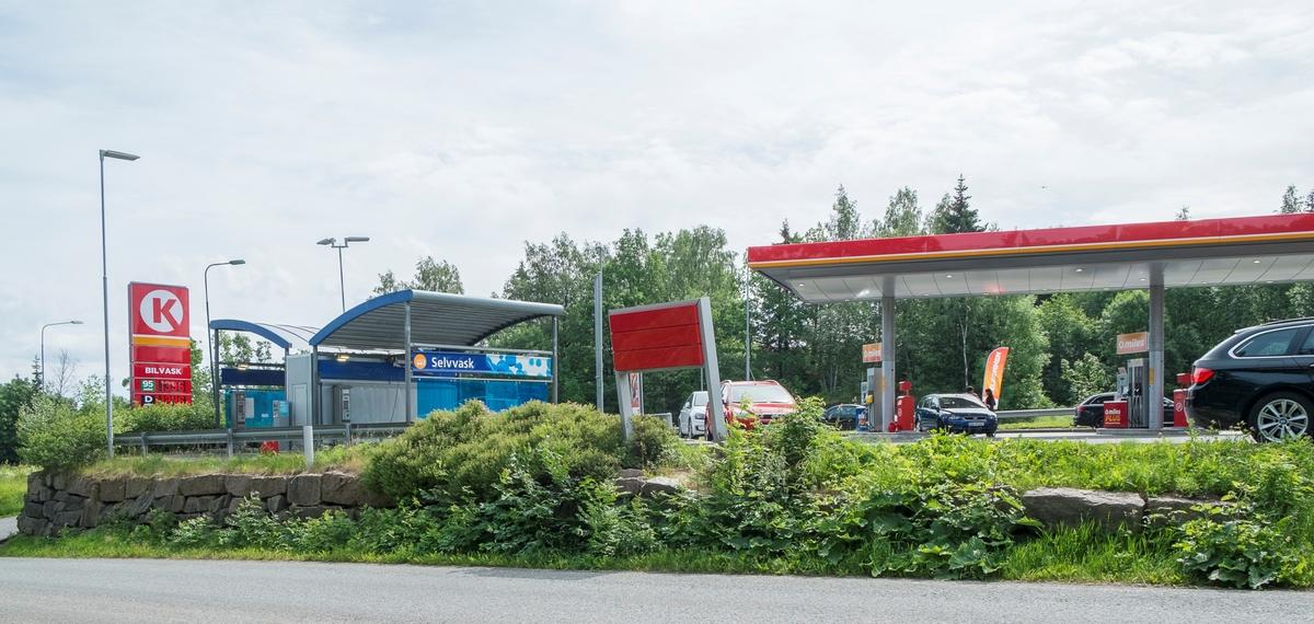 Circle K bensinstasjon Askerveien Asker