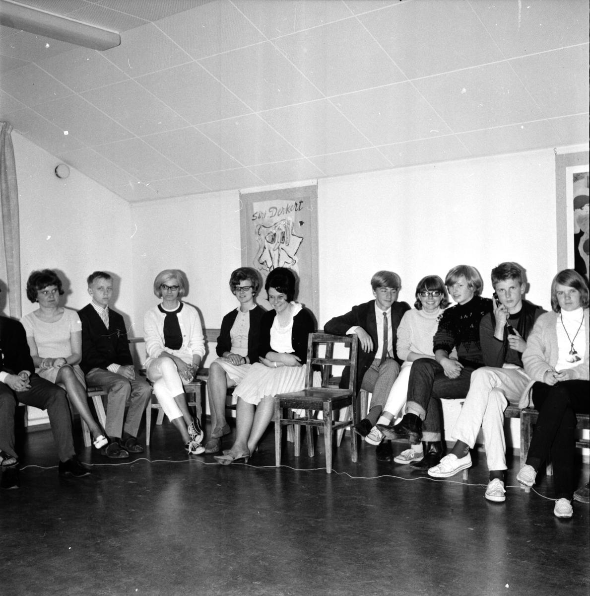 Hörselskadade, Folkhögskolan, 30 Juni 1965