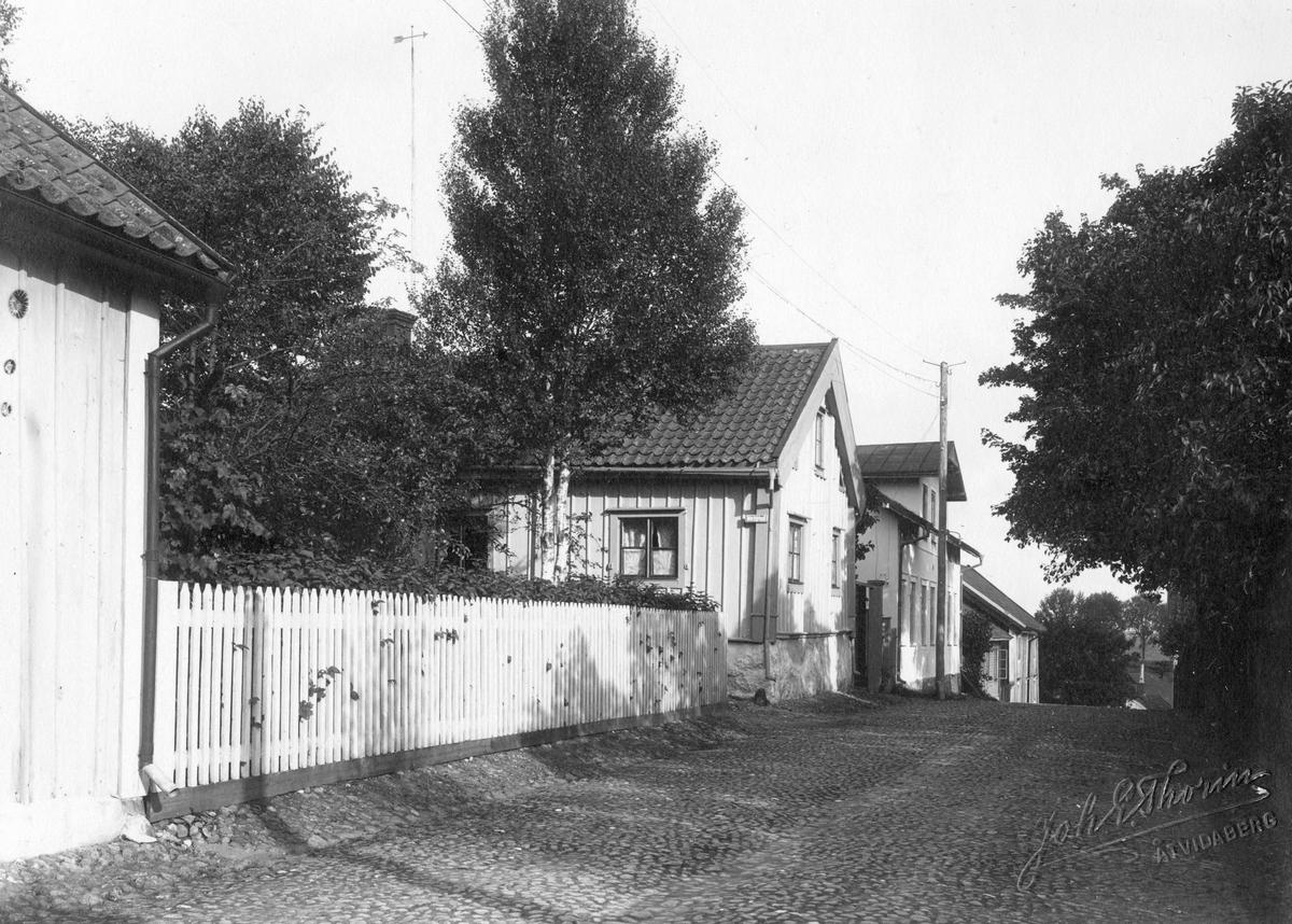 Parti av Skänninge 1913.