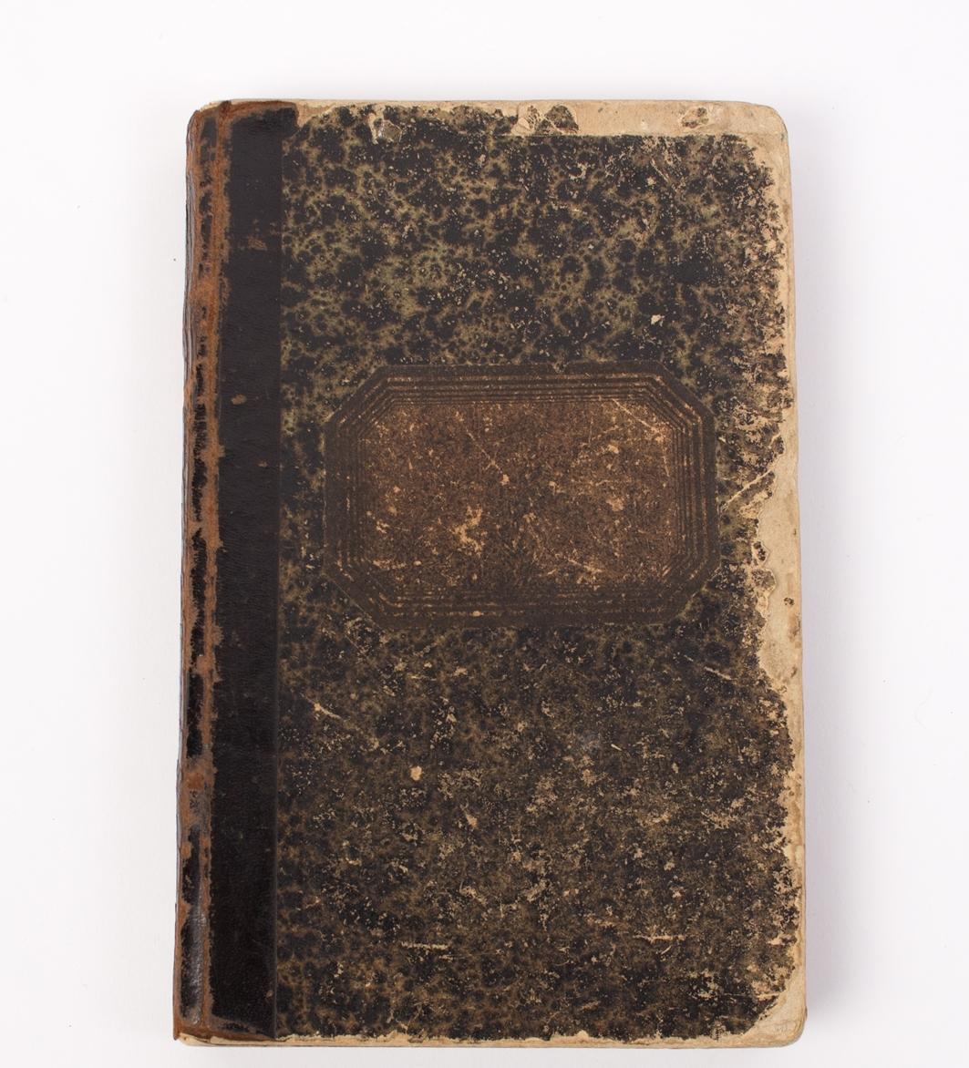 Dagbok skrevet av Anton Amundsen som var 1. maskinist ombord på polarskuten FRAM 1896