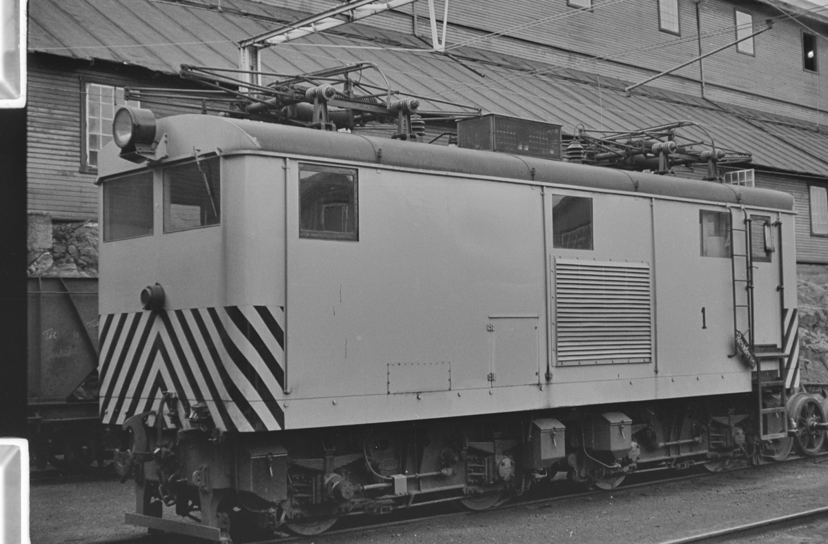 Thamshavnbanens lokomotiv nr. 1.