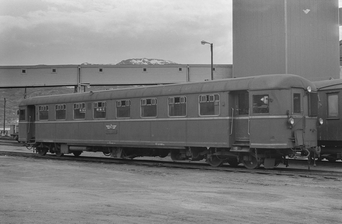 Sulitjelmabanens dieselmotorvogn SULITELMA på Lomi.