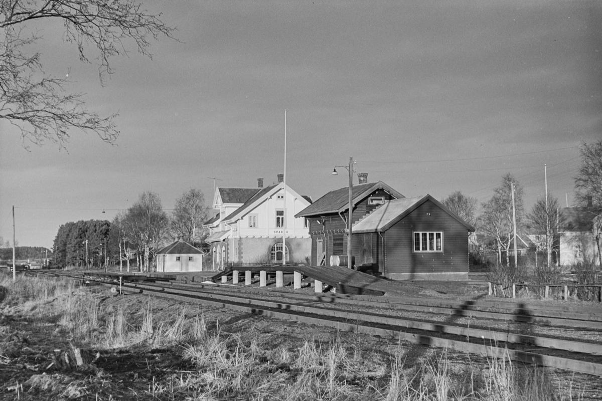 Sparbu stasjon på Nordlandsbanen.