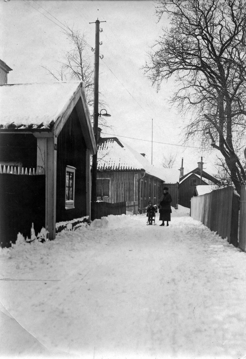 Gisslarbo bruk.Början av 1900-talet. - Köpings museum