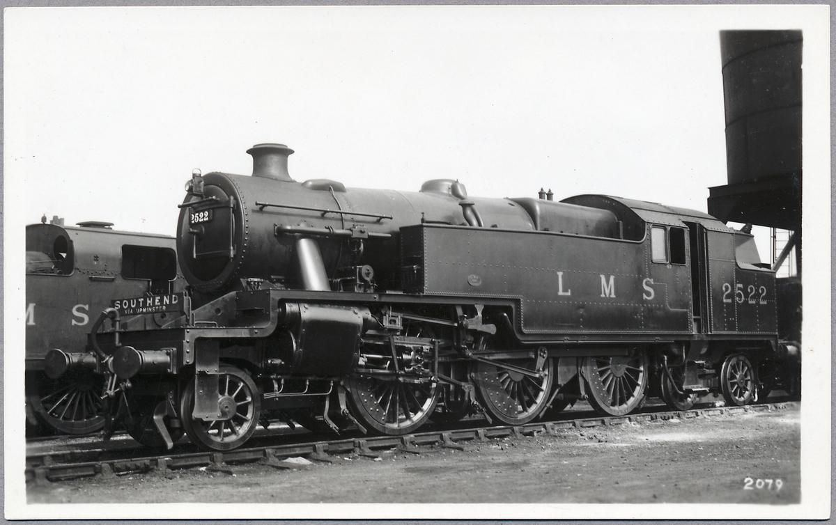 London, Midland and Scottish Railway, LMS Stanier 4P 2522
