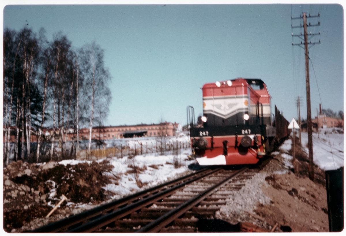 Statens Järnvägar, SJ T43 247.