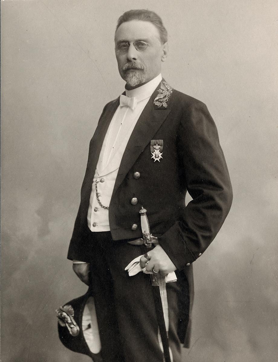 Trafikinspektor Carl Gustaf Johansson.