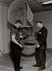 Trådrenoveringsmaskin. 1960.