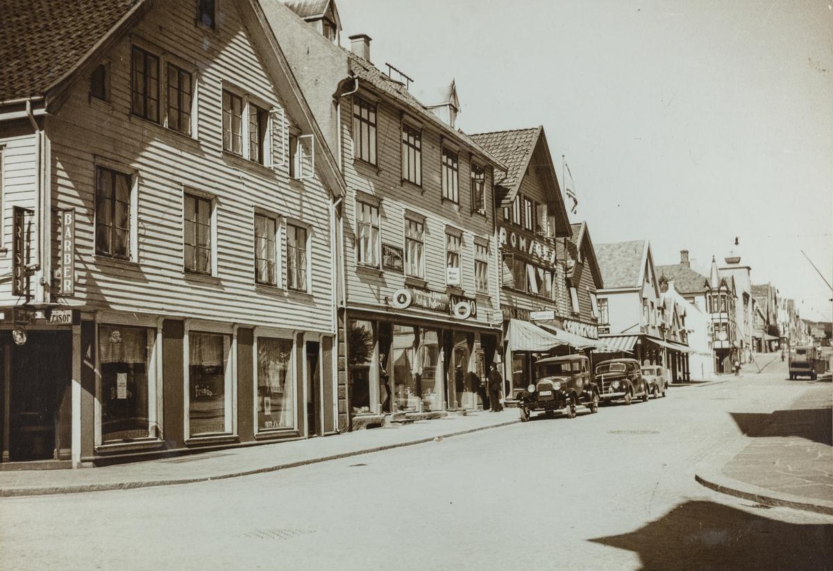 Skjoldavegen sett mot øst, 1938.