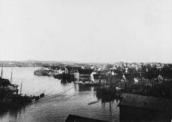 """""""Krossen"""" sett mot nordvest, ca. 1930."""