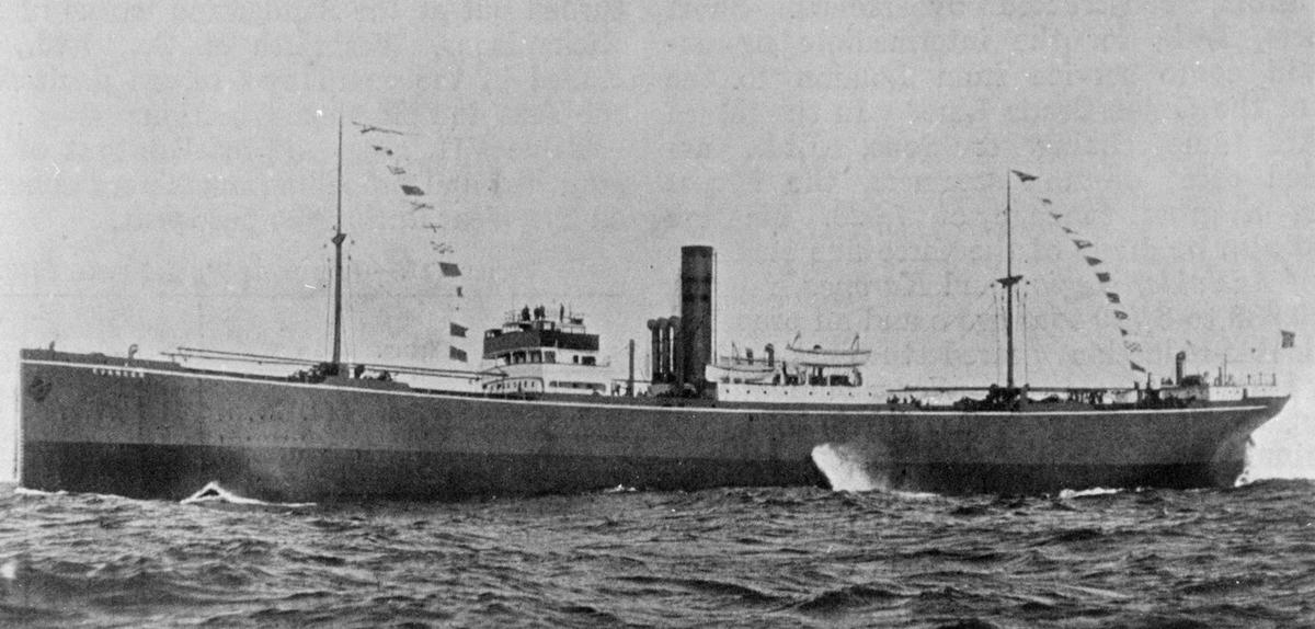 DS EVANGER (bygget 1920)