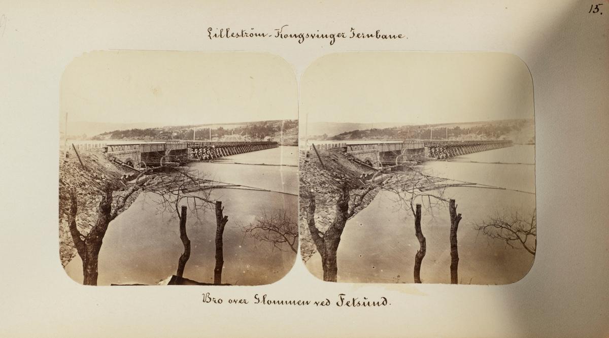 Bro over Glomma ved Fetsund stasjon