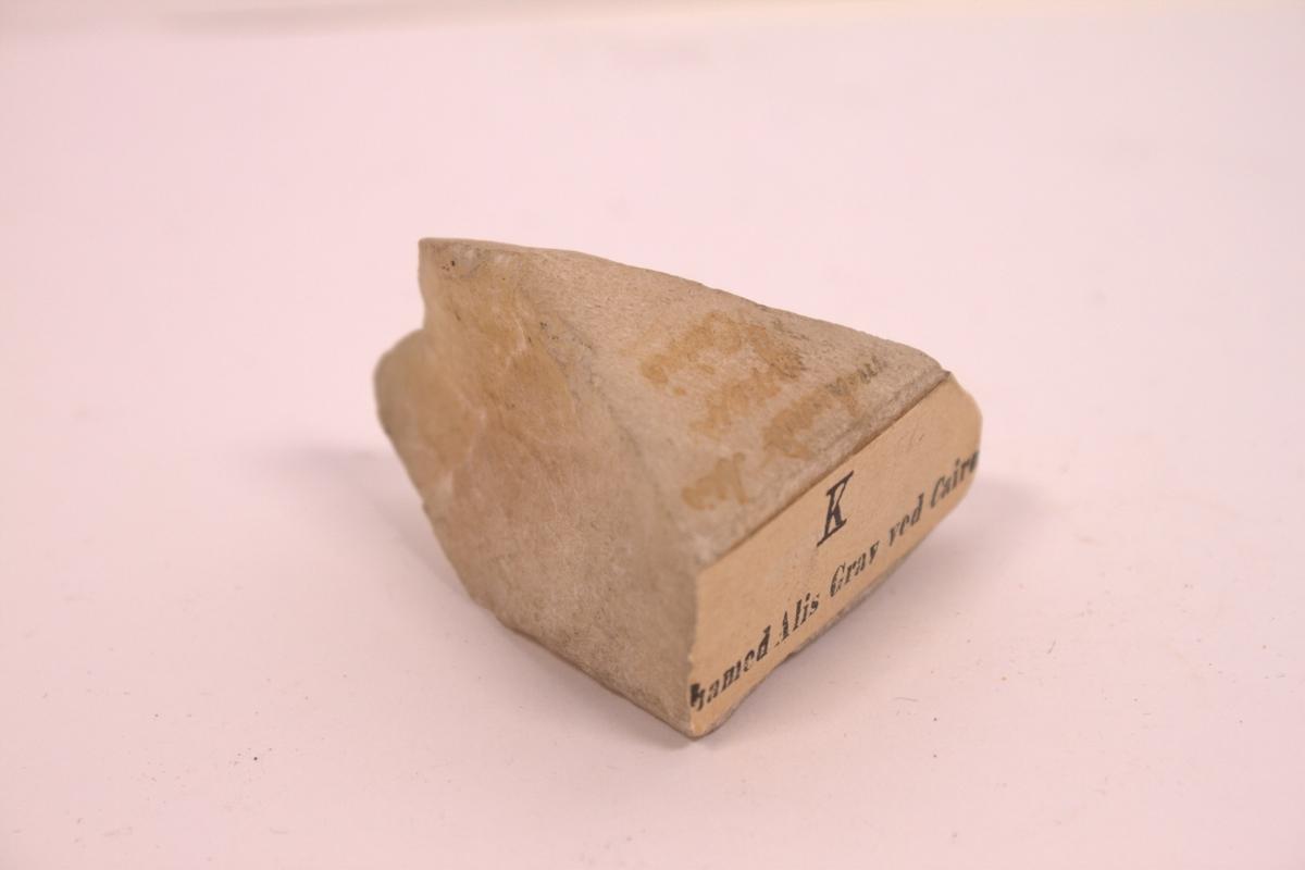 Sten fra Muhamet Alis grav ved Kairo