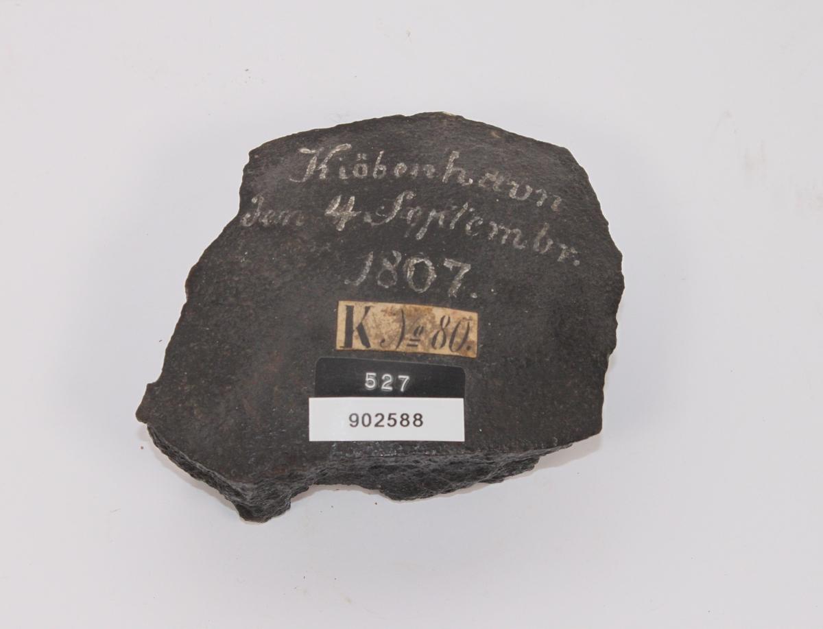 Kulesplint fra Kjøbenhavn 1807