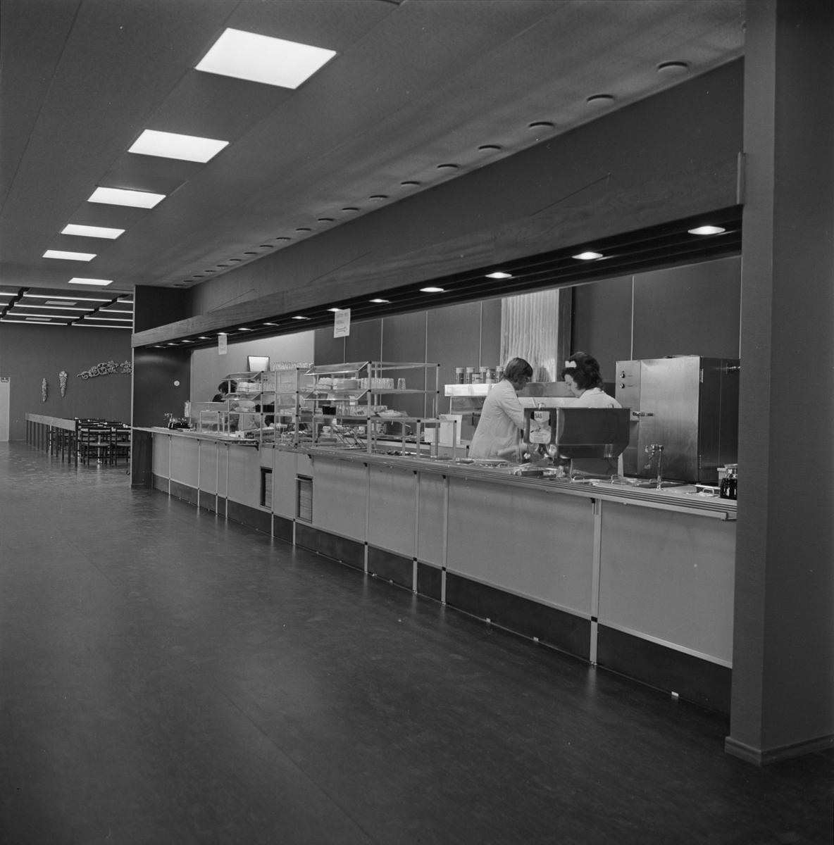 Int av nya matsalen