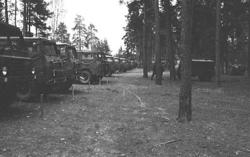 Militärmästerskap Motor. Fordonsuppställning.