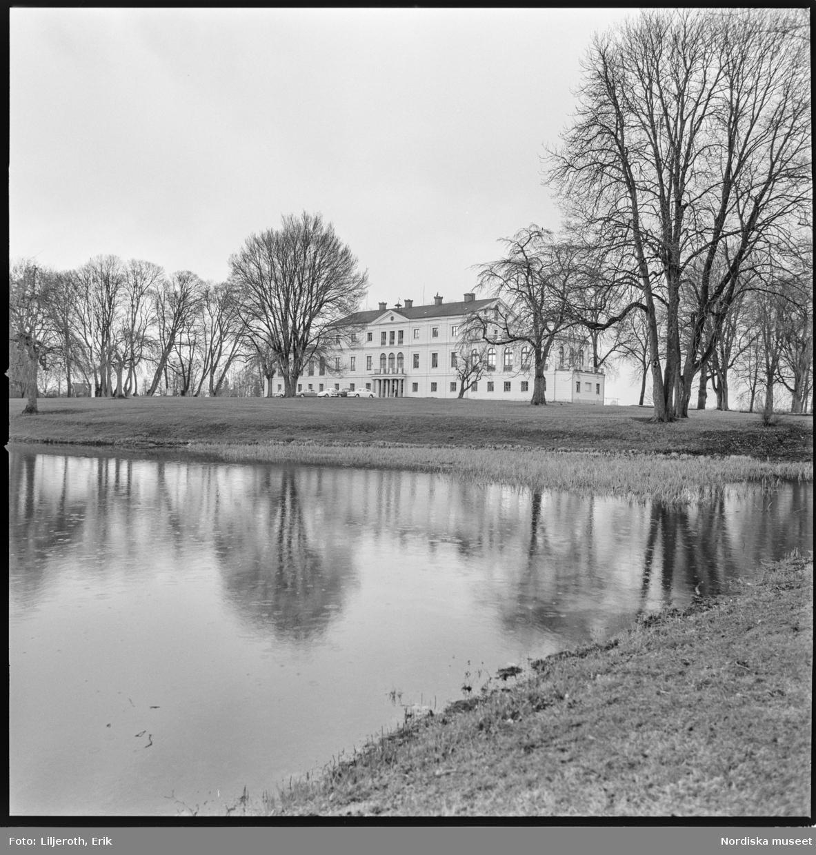 Säfstaholm, herrgård, Västra Vingåkers socken, Södermanland.