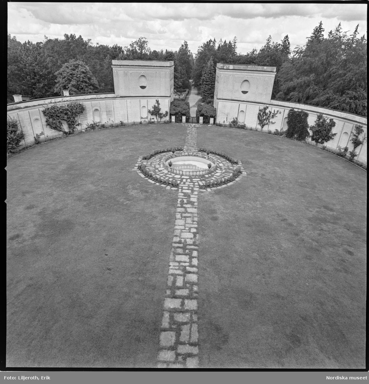 Tistad slott, interiör, Bärbo socken, Södermanland.