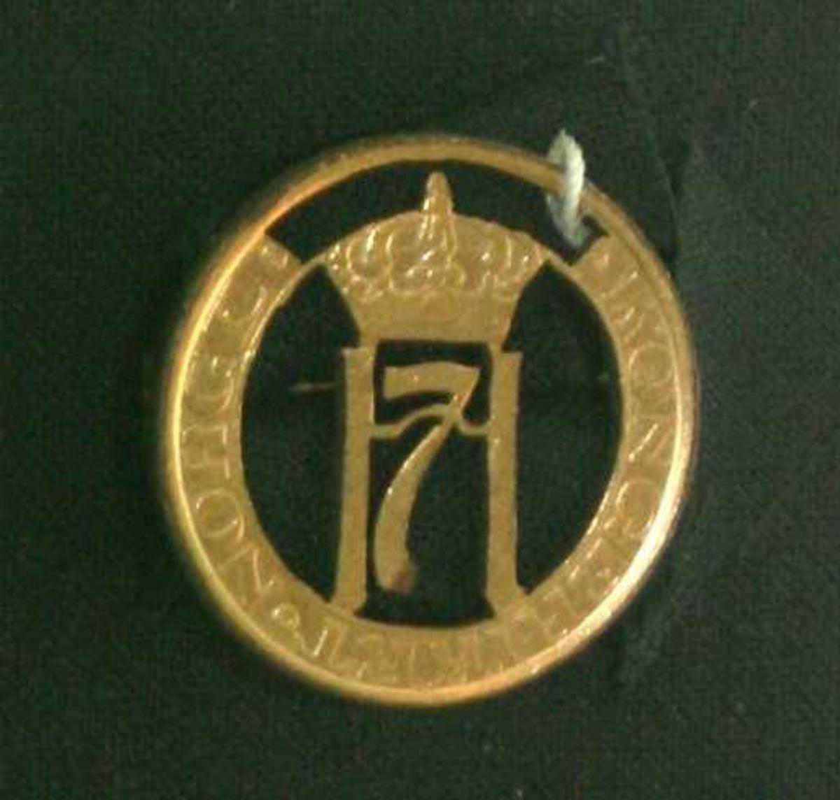 Kongens monogram H7