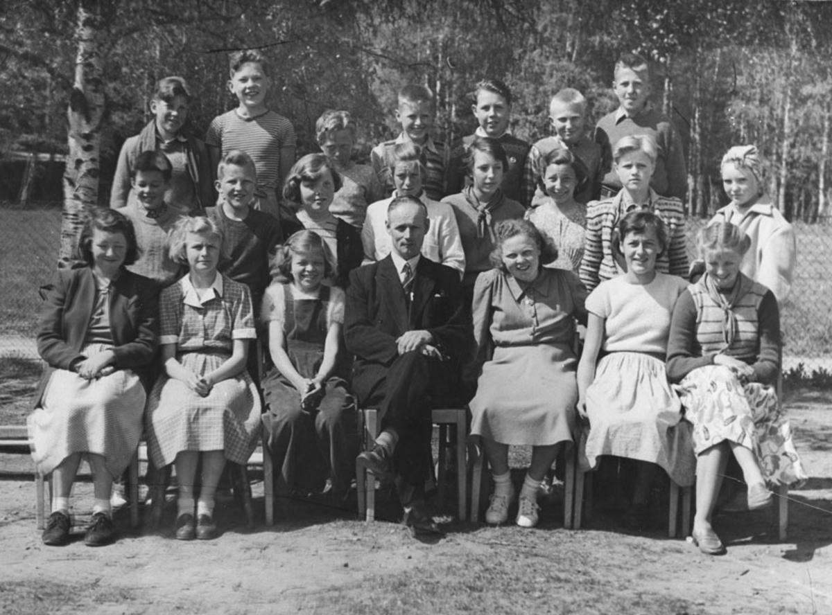 Kontra skole 1951. Kontra skole 1951