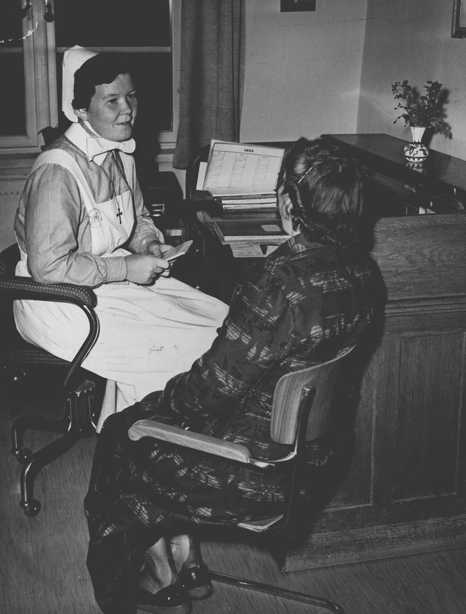Sosialkurator Ingrid Hjelmark, diakonsykehuset