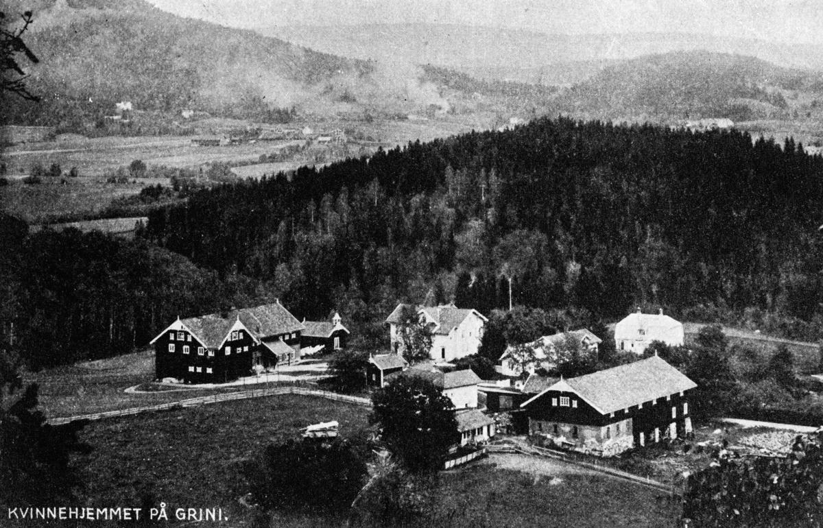 Kvinnehjemmet på Grini, fra 1947 overtatt av Emma Hjort Postkort