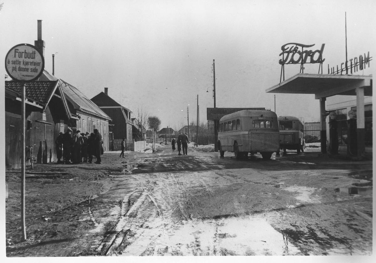Nittedalsgata i 1930-årene.