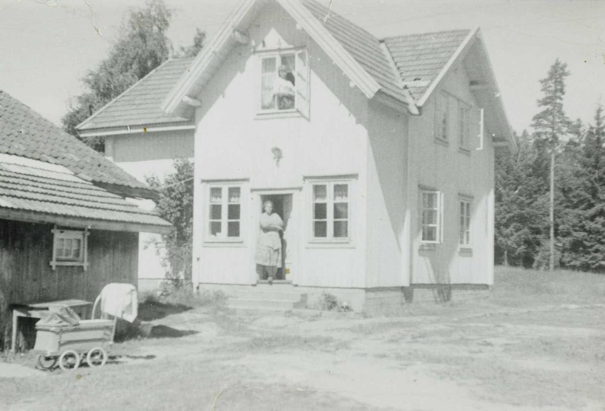 Hovedhuset på Salstrokken i 1958