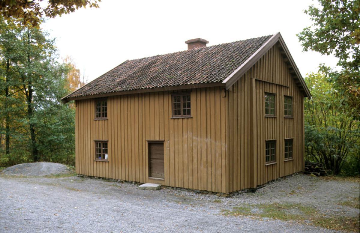Follo museum: Korsegårdshuset skyss-stasjon