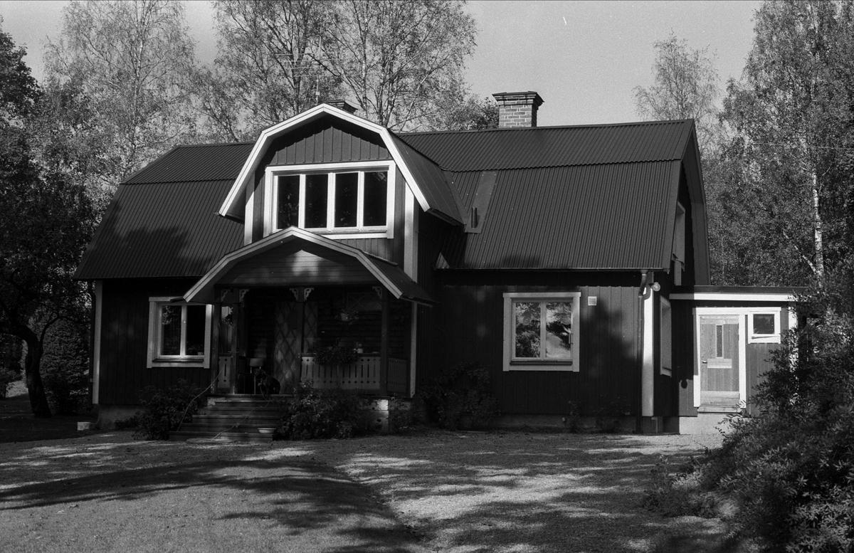 Bostadshus, Ellringe 1:24, Stora Ellringe, Almunge socken, Uppland 1987