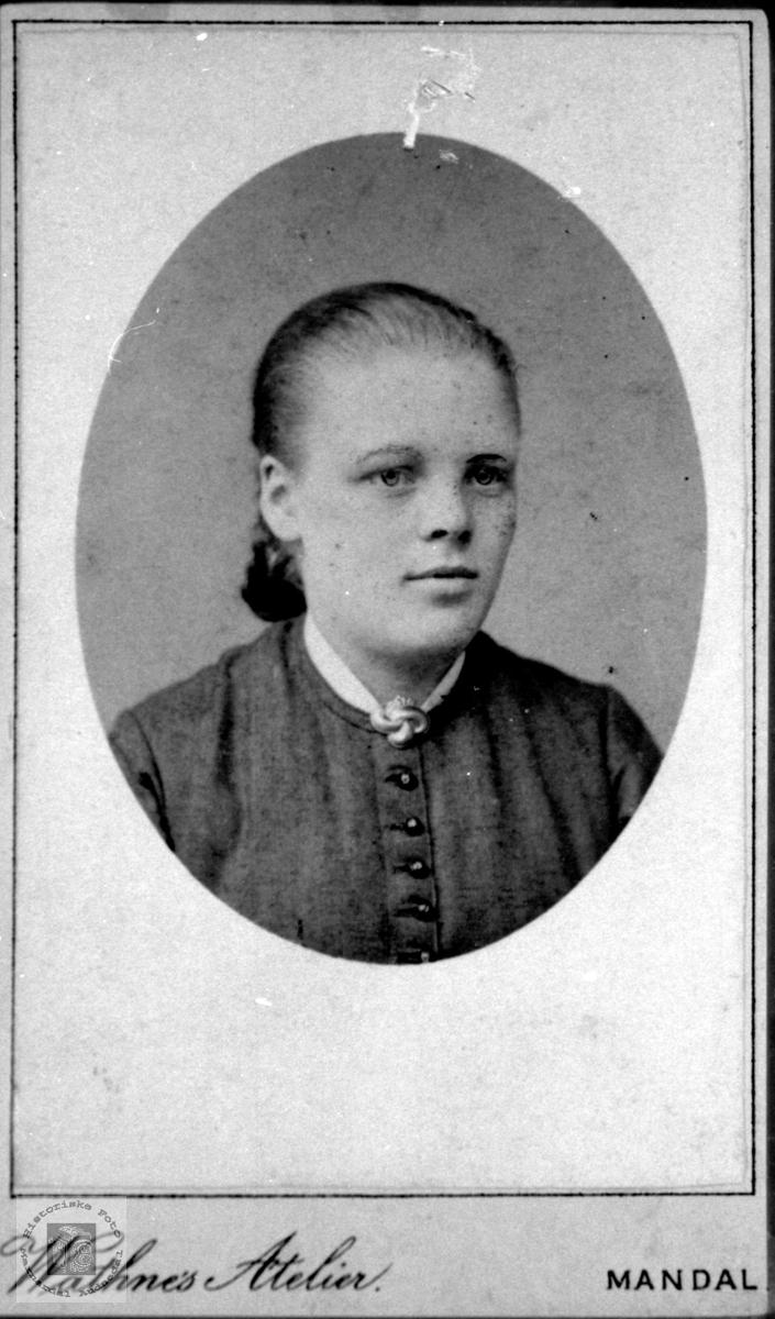 Portrett av Steivor Skuland, Laudal.