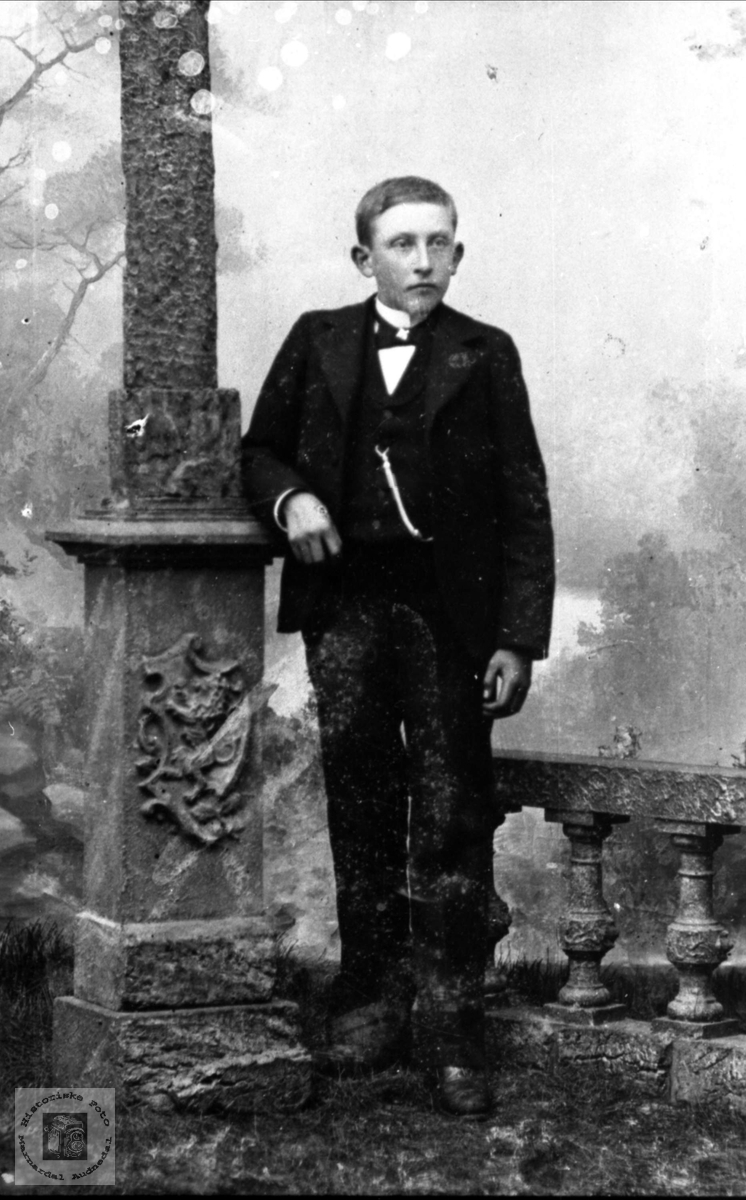 Portrett Lars Heddeland, Øyslebø.