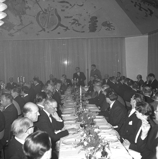 """""""Lysekil. Invigningen av Hotell Lysekil. 1952.05.28"""""""