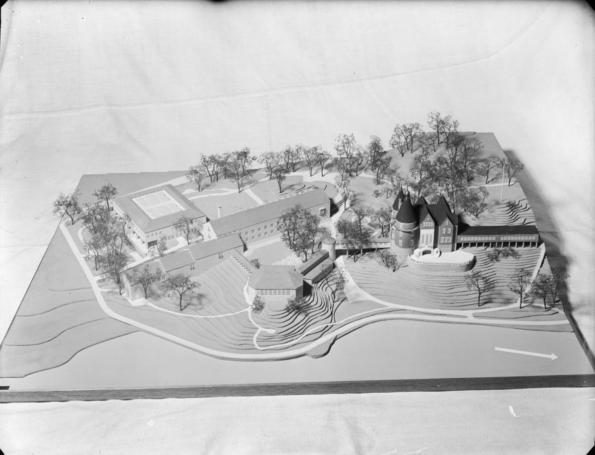 Modell av Vår Gård, Saltsjöbaden