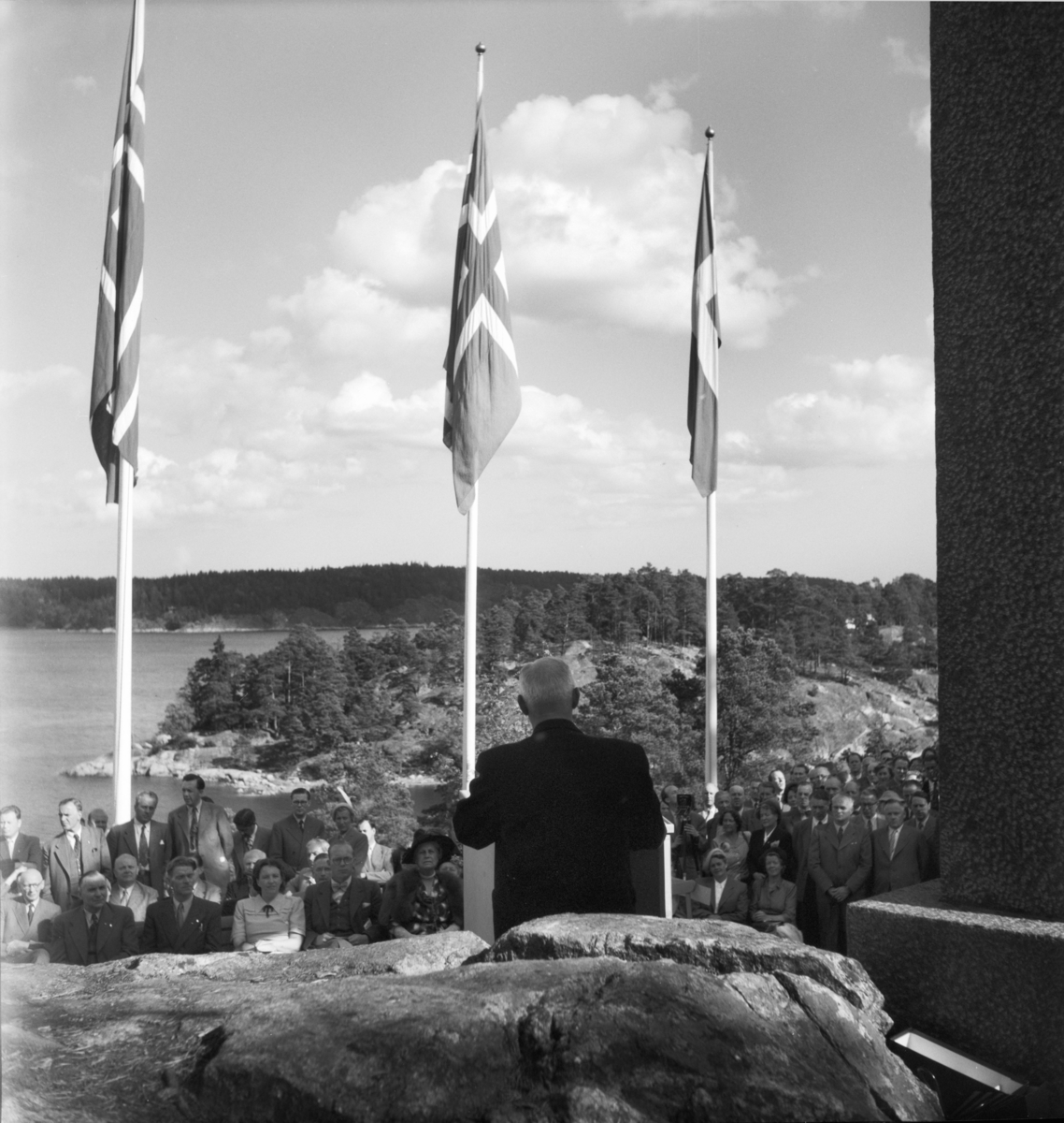50-års jubileum. Från invigning