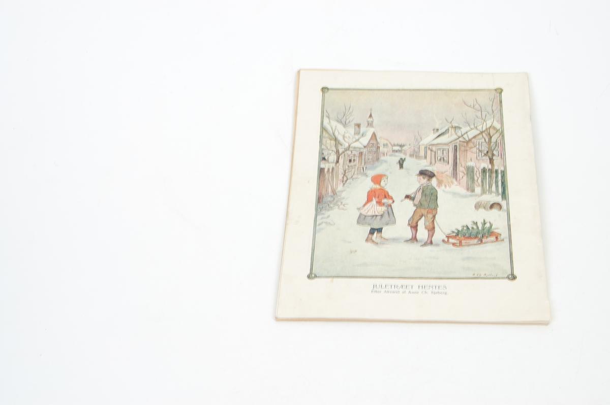 To barn og julenisse