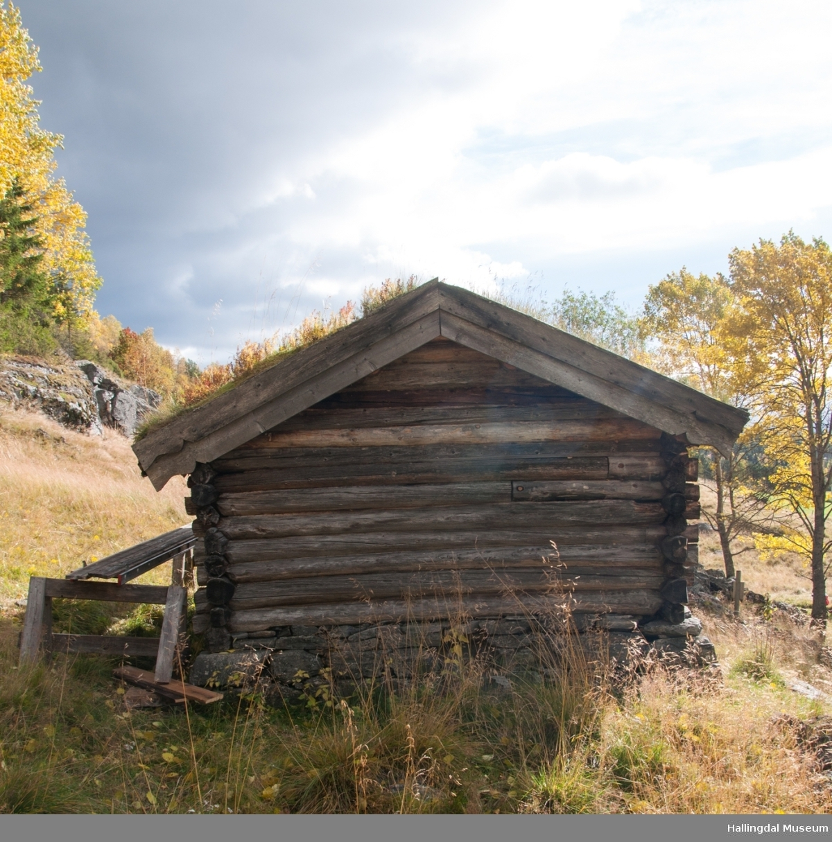 Badstue på Hemsedal Bygdatun på gården øvre Løkji