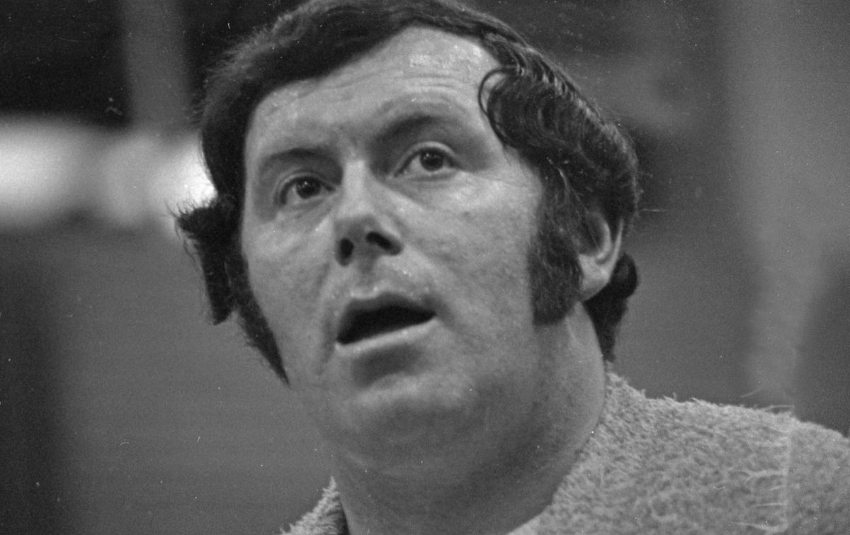 Torkel Ravndal i Haraldshallen - 1971