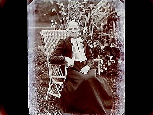 Äldre kvinna.Johan Andersson